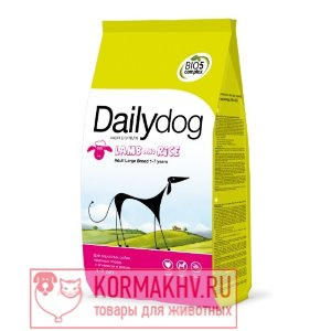 DailyDog ADULT LARGE BREED Lamb and Rice