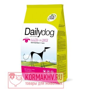 DailyDog ADULT SMALL BREED Lamb and Rice