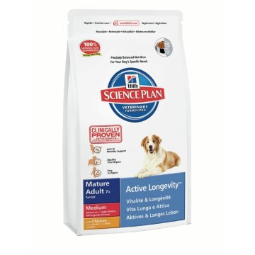 Science Plan Canine Mature Adult 7+ Active Longevity Medium with Chicken