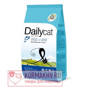 DailyCat ADULT EXI Care Fish end Rice
