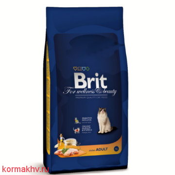 Brit Premium Cat Adult Chicken
