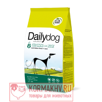 DailyDog ADULT MEDIUM BREED Chicken and Rice