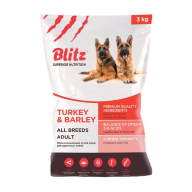 BLITZ Adult Turkey & Barley