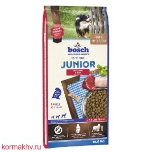 Bosch JUNIOR ягнёнок и рис