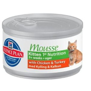 Science Plan Kitten 1st Nutrition Mousse (МУСС)