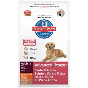 Science Plan Canine Adult Advanced Fitness Large Breed Ягненок и Рис